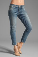 7 For All Mankind Josefina Crop - Lyst