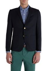 Band Of Outsiders No Bunk No Junk Twobutton School Boy Jacket - Lyst
