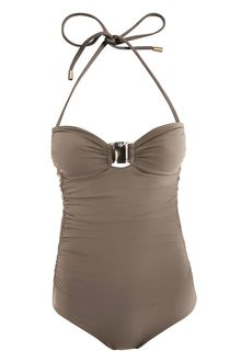 Chloé Ruched Side Swimsuit - Lyst