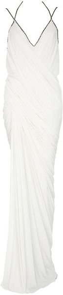 Donna Karan New York Draped Goddess Gown - Lyst