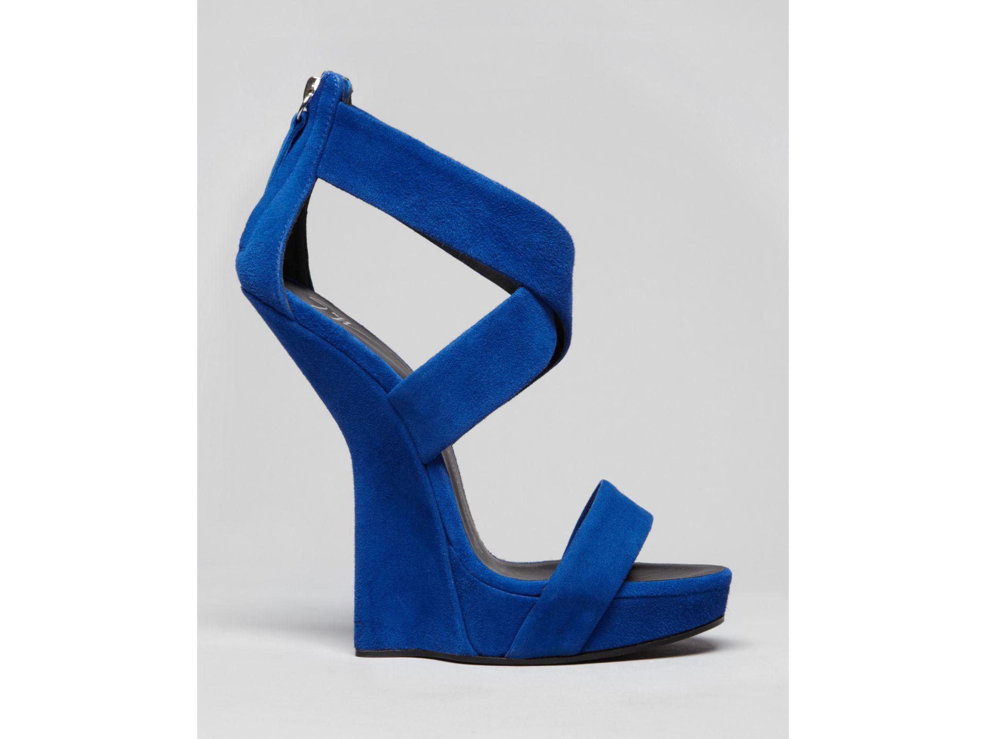 Lyst Giuseppe Zanotti Platform Wedge Sandals Alien