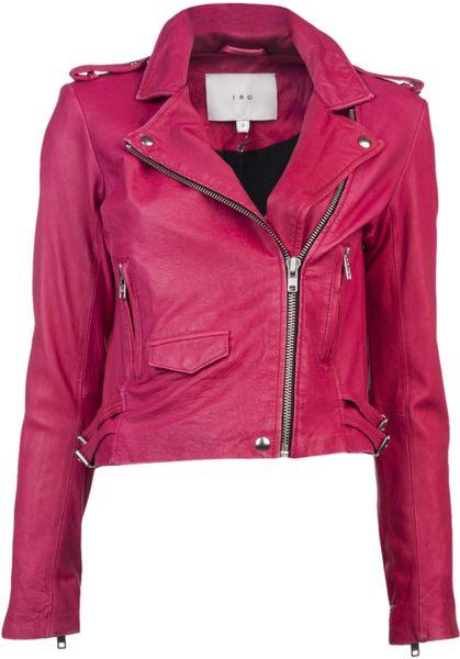 Iro Ashville Jacket in Pink - Lyst