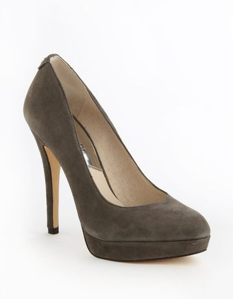 Michael by Michael Kors York Suede Platform Pumps - Lyst