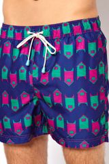 Maui & Sons Oiler Boiler Exclusive Beach Hut Swim Shorts - Lyst