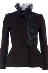 Giambattista Valli Ruffled Jacket - Lyst