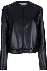 Lanvin Stitch Trim Jacket - Lyst