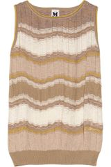 M Missoni Crochetknit Top - Lyst