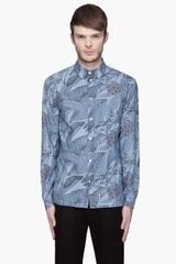 Paul Smith Printed Tailored Fit Shirt - Lyst