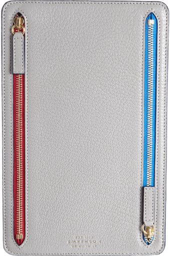 Smythson Chameleon Currency Case - Lyst