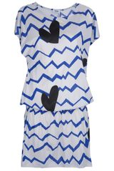 Sonia By Sonia Rykiel Printed Dress - Lyst
