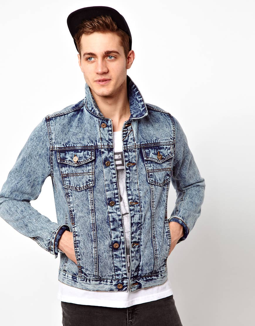 Discover the range of men's denim jackets from ASOS. Shop from a variety of colours and styles, from vintage to oversized denim jackets. Shop now at ASOS.