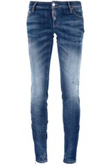 DSquared2 Stone Washed Jeans - Lyst