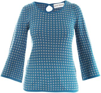 Goat Rosie Dot Sweater - Lyst