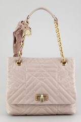Lanvin Happy Quilted Leather Medium Shoulder Bag - Lyst