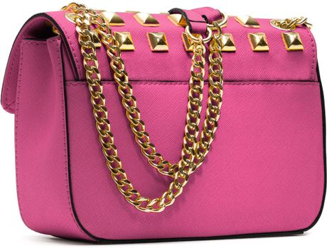 Sloan Studded Shoulder Bag 36