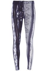 Mm6 By Maison Martin Margiela Printed Leggings - Lyst
