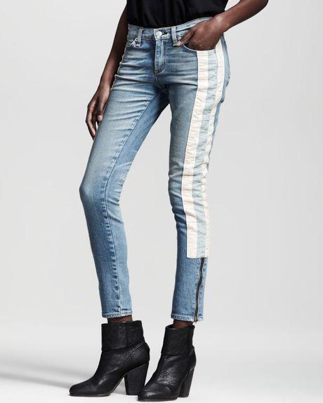 Rag u0026 Bone The Skinny Racer Relay Jeans in Blue (relay) | Lyst