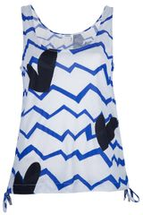 Sonia By Sonia Rykiel Abstract Print Vest - Lyst