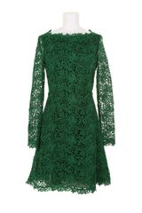 Valentino Long Sleeve Dress