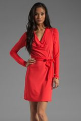 Haute Hippie Belting Cowl Dress - Lyst