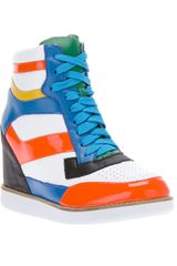 Jeffrey Campbell Napoles Wedge Trainer - Lyst