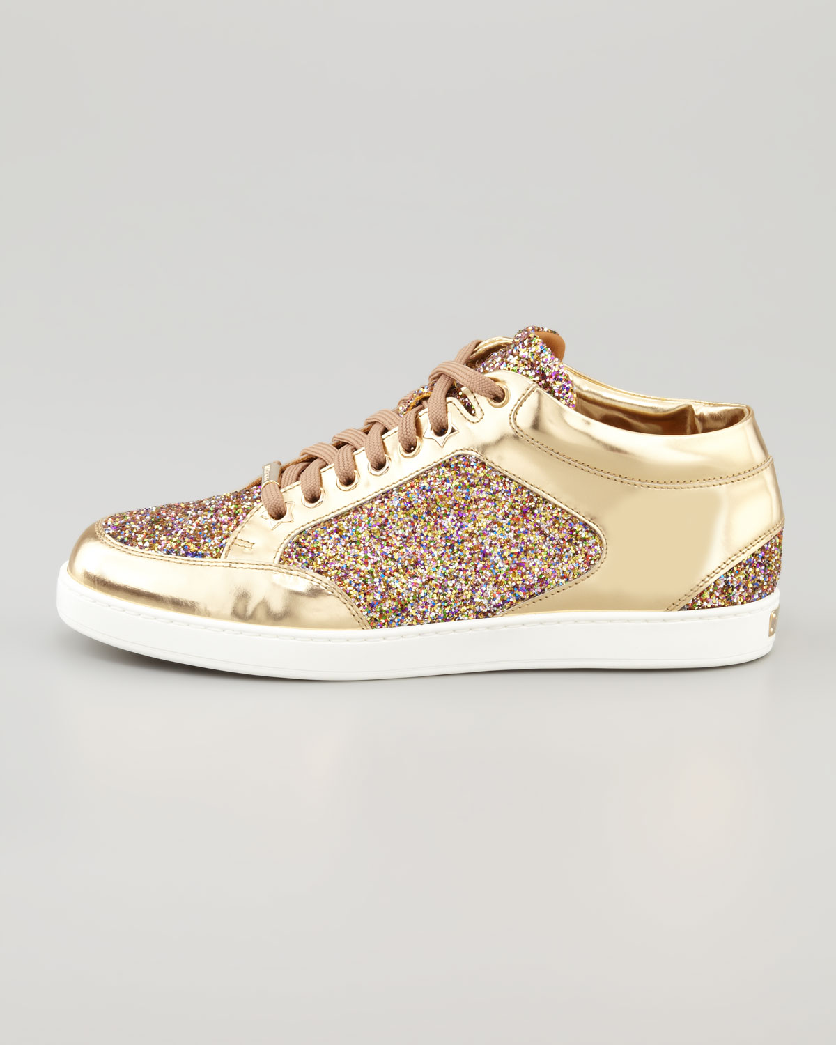 5656287422ec Gallery. Previously sold at: Neiman Marcus · Women's Jimmy Choo Glitter  Shoes Women's Jimmy Choo Miami Sneakers