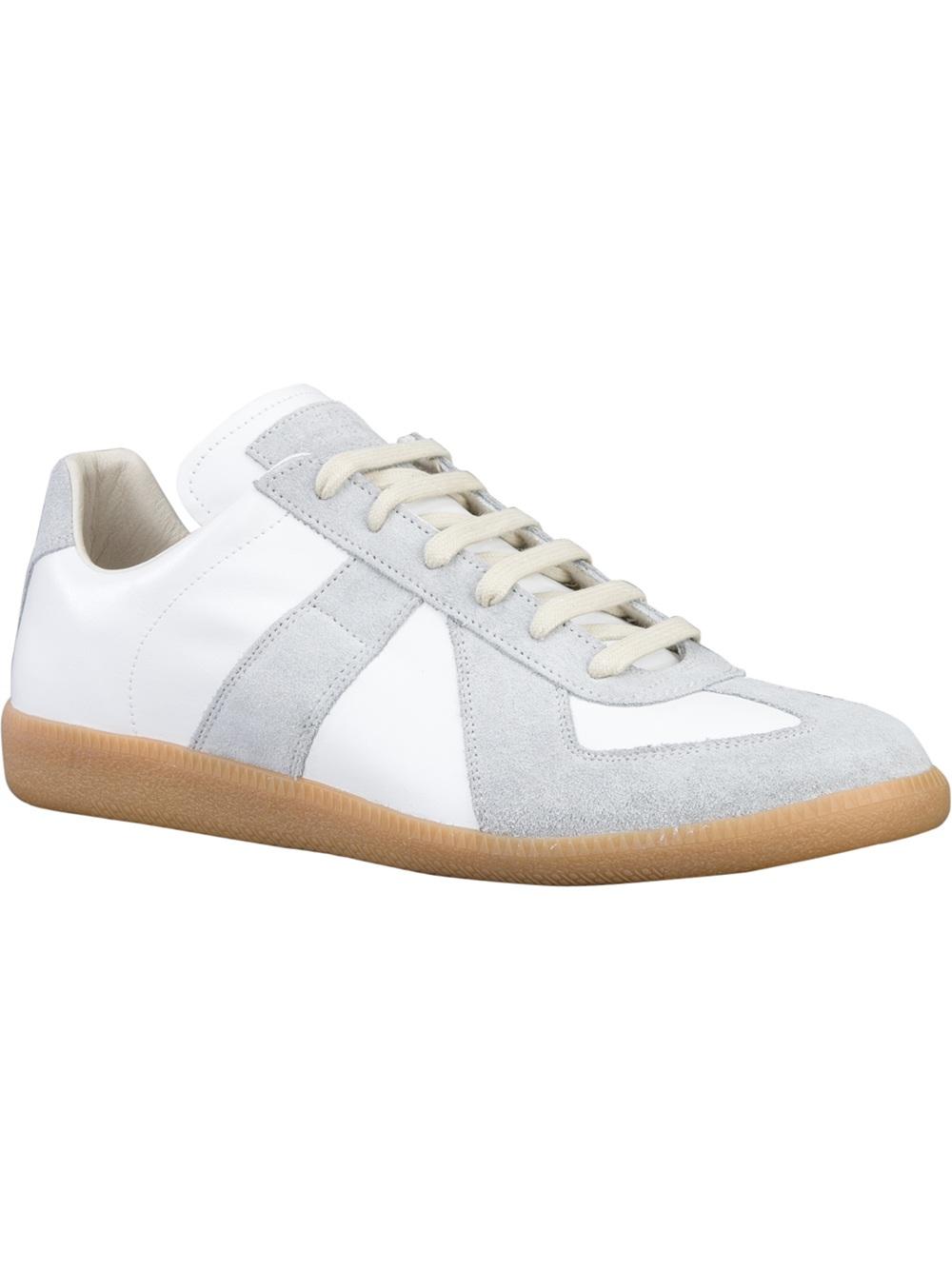 Maison margiela 70s replica sneaker in white for men lyst for Maison martin margiela replica