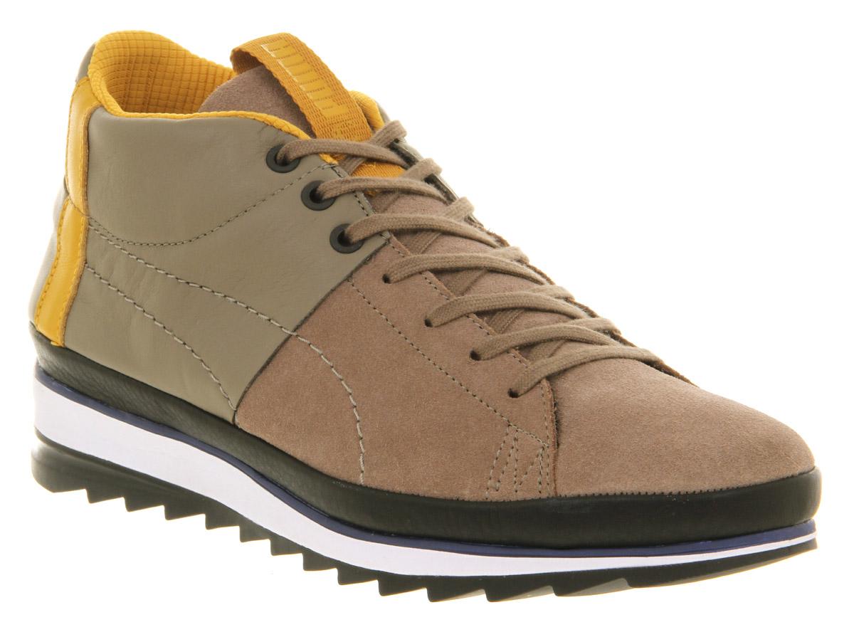 b34da0730e4c Lyst - PUMA Wayler Mid Brindle Wood for Men