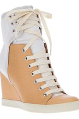 See By Chloé Wedge Sneaker - Lyst