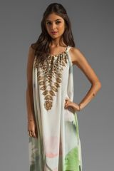 Camilla Drawstring Maxi Dress - Lyst