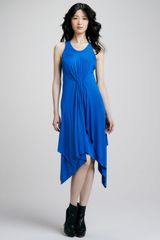 Cut25 Handkerchief-Hem Jersey Dress - Lyst