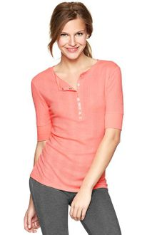 Gap Ribbed Top - Lyst