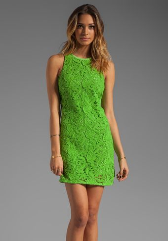 Juicy Couture Guipuere Lace Dress - Lyst