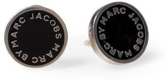 Marc By Marc Jacobs Enamel Disc Stud Earring - Lyst
