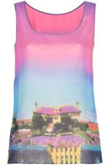 Moschino Cheap & Chic Neighbourhood Vest Top - Lyst