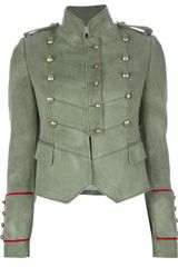 Joseph Double Breasted Military Blazer