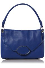 Lulu Guinness Lips Hardware Hobo Bag