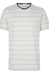 Sunspel Striped T-shirt - Lyst