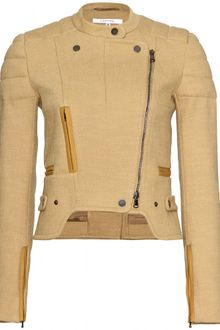 Carven Cotton Biker Jacket - Lyst