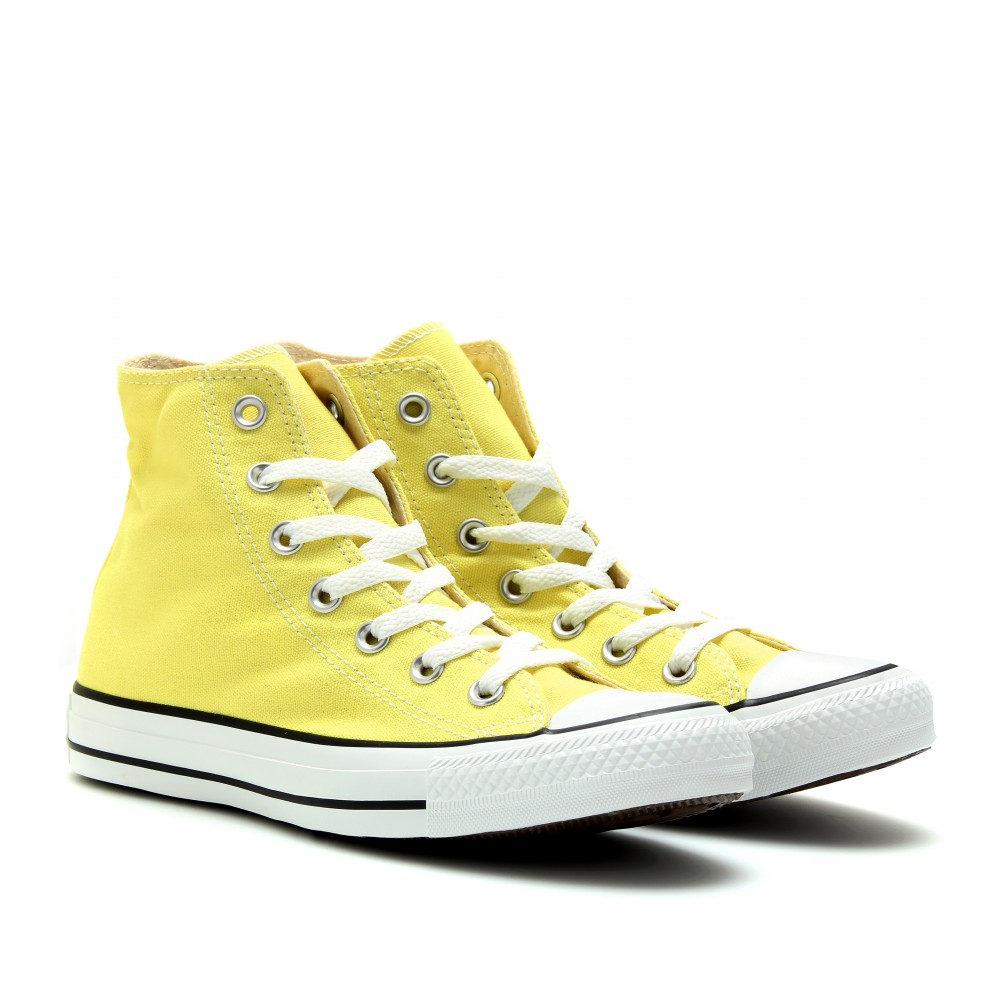 Converse Chuck Taylor All Star Hi Trainers In Yellow free shipping footlocker discount footaction visa payment ZoXAf0CkU