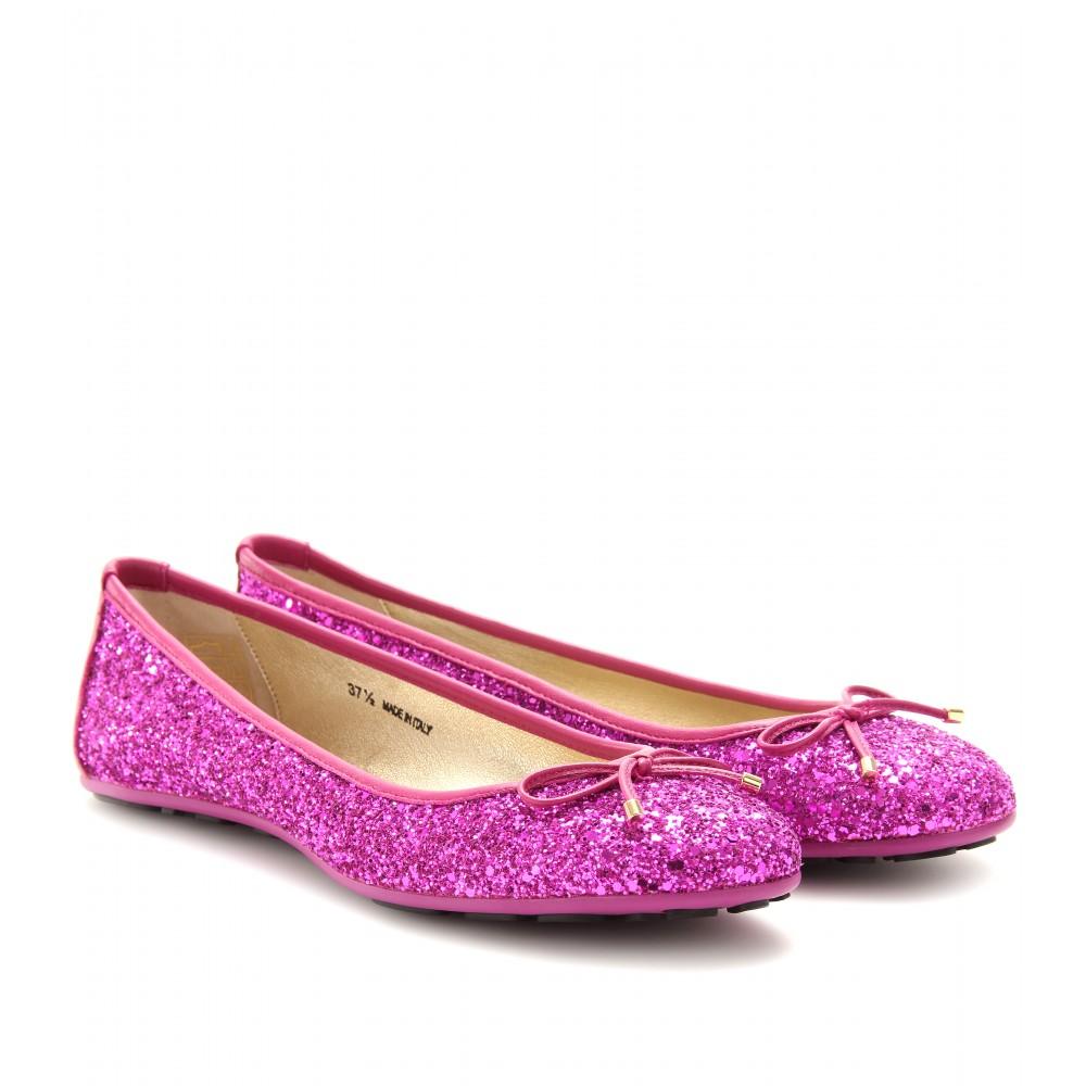 shoeniverse purple rain jimmy choo purple walsh glitter ballerinas. Black Bedroom Furniture Sets. Home Design Ideas