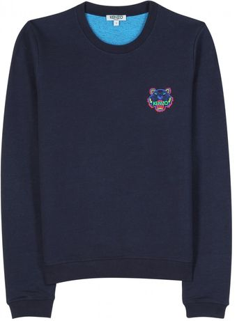 Kenzo Sweatshirt with Embroidered Logo - Lyst