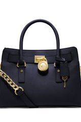 Michael by Michael Kors Hamilton East West Leather Satchel Bag