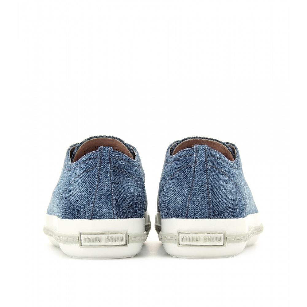bebdb098308e Pictures of Miu Miu Sneakers Blue - kidskunst.info