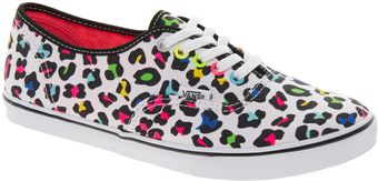 Vans Authentic Lo Pro Neon Leopard Trainers - Lyst