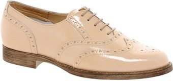 Asos Asos Match Leather Brogues - Lyst