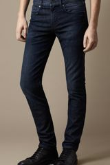 Burberry Shoreditch Indigo Stretch Skinny Fit Jeans - Lyst