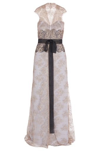 Carolina Herrera Lace Gown - Lyst