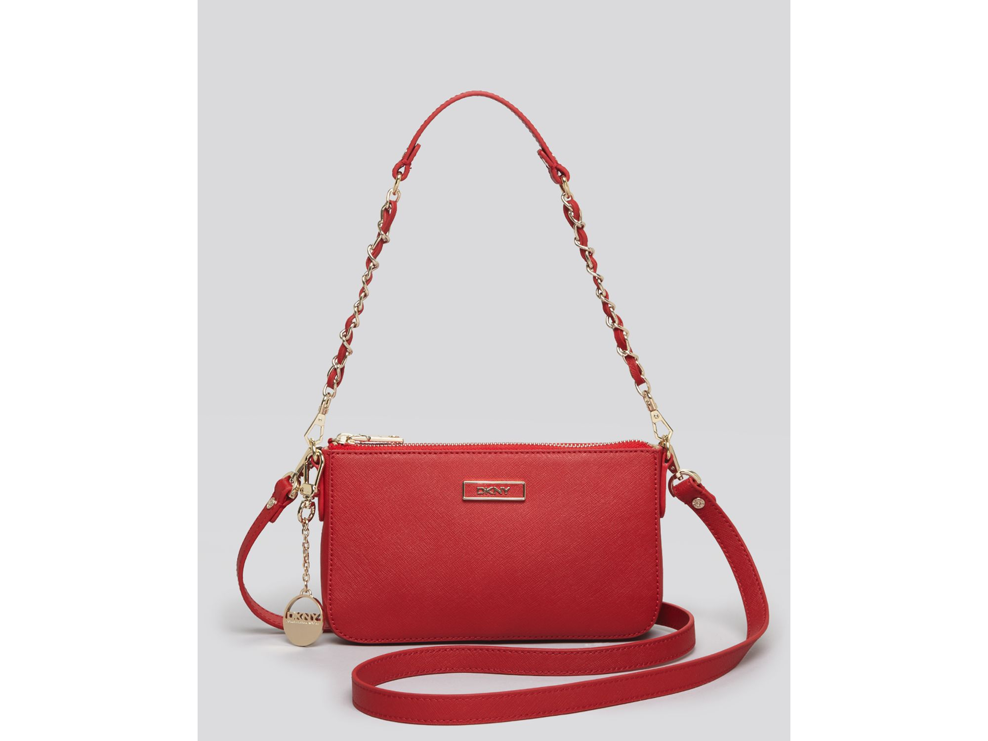 Dkny Crossbody Bag in Red | Lyst