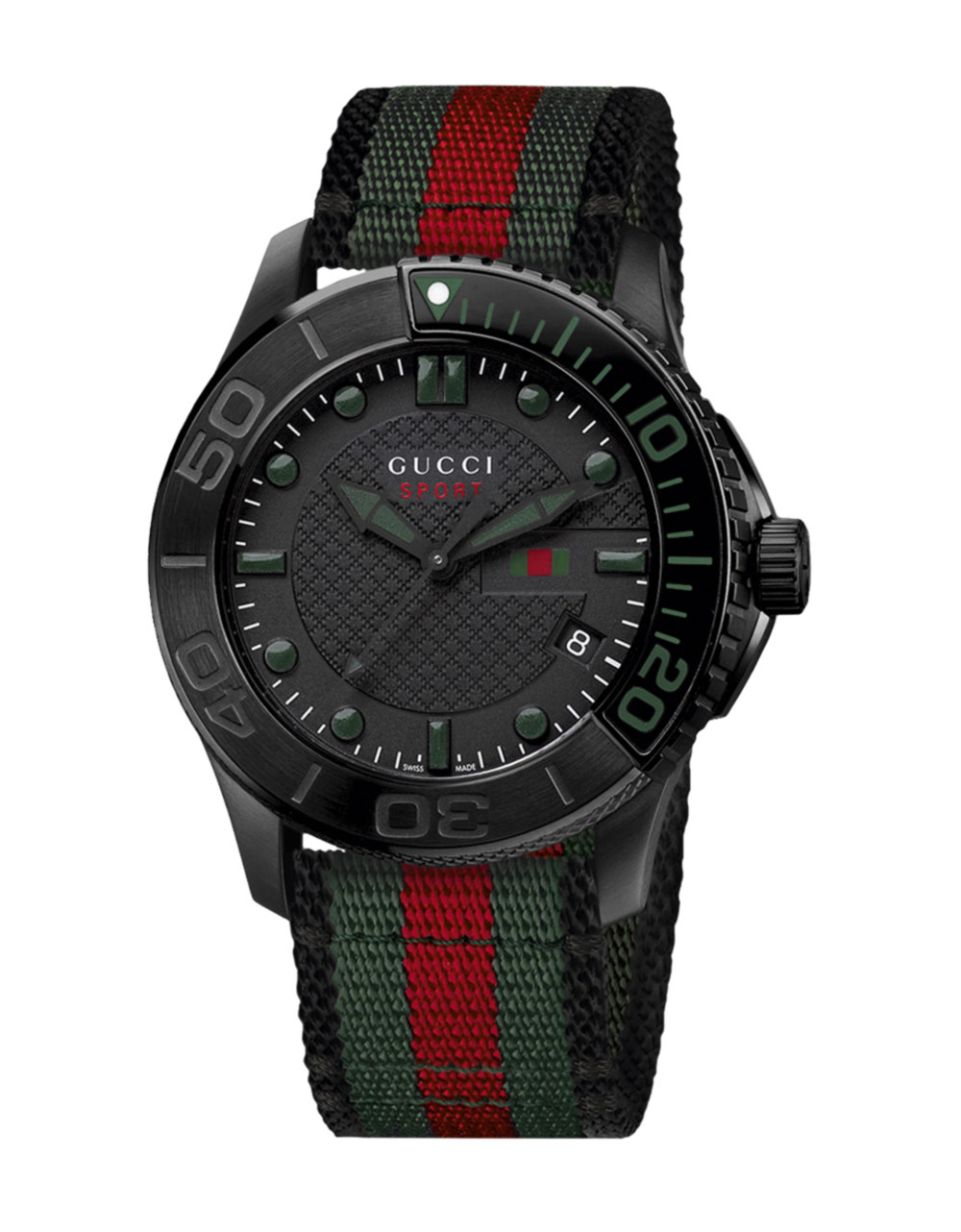 gucci mens timeless sports in for black pvd lyst